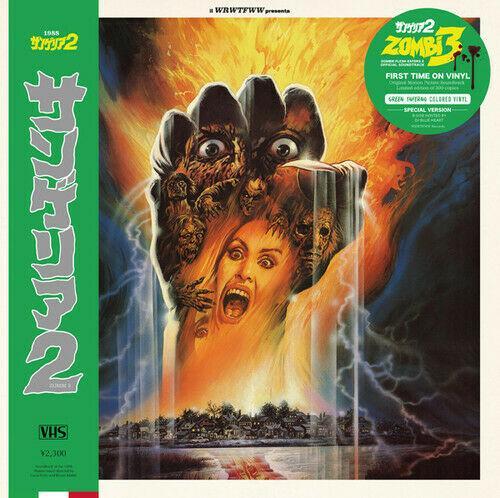 Stefano Mainetti - Zombi 3 (Original Soundtrack) Colored Vinyl, Gree