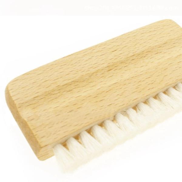 Антистатическая чистящая щетка из козьей шерсти