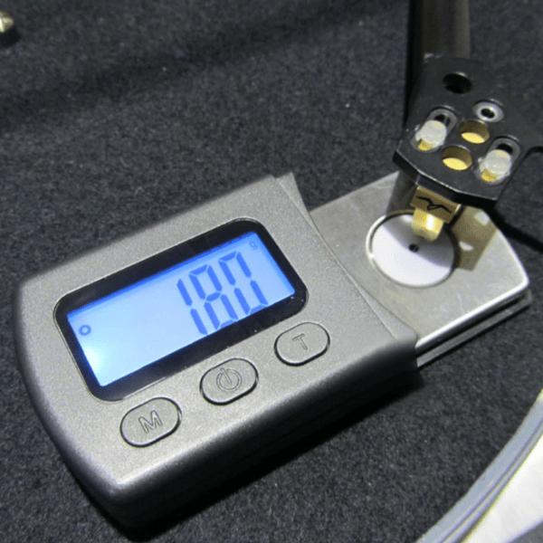 Весы для настройки тонарма и прижимной силы картриджа