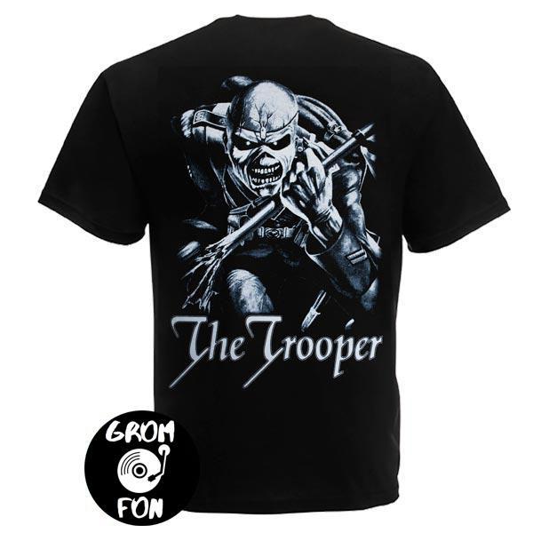 Футболка IRON MAIDEN The Trooper
