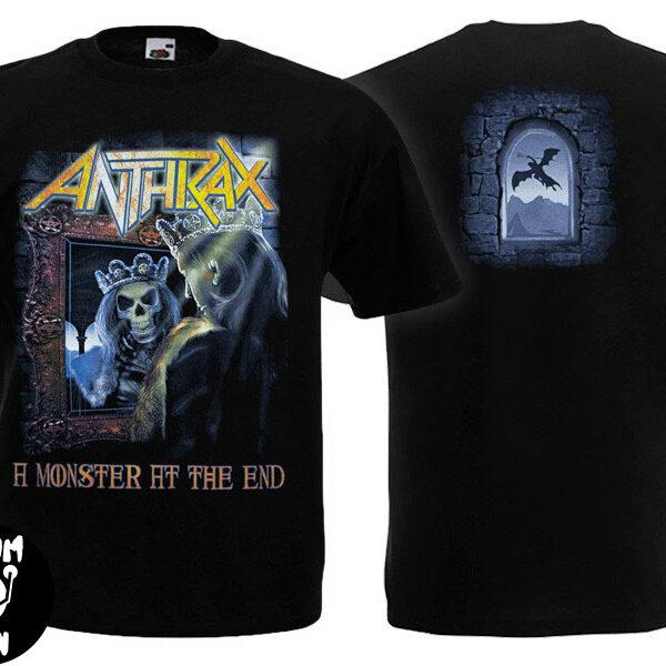 Футболка ANTHRAX Monster At The End