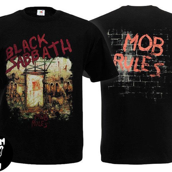 Футболка BLACK SABBATH Mob Rules