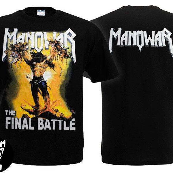 Футболка MANOWAR The Final Battle