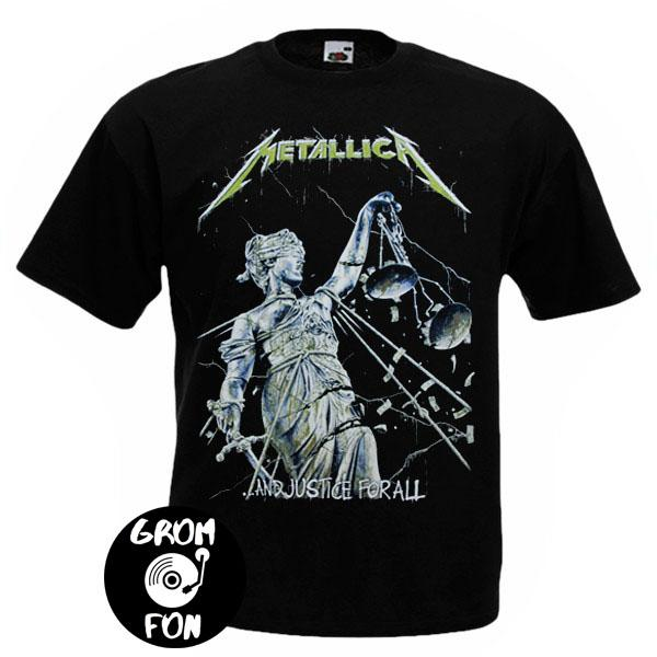 Футболка METALLICA And Justice For All