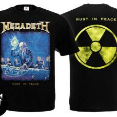 Футболка MEGADETH Rust In Peace Radioactive
