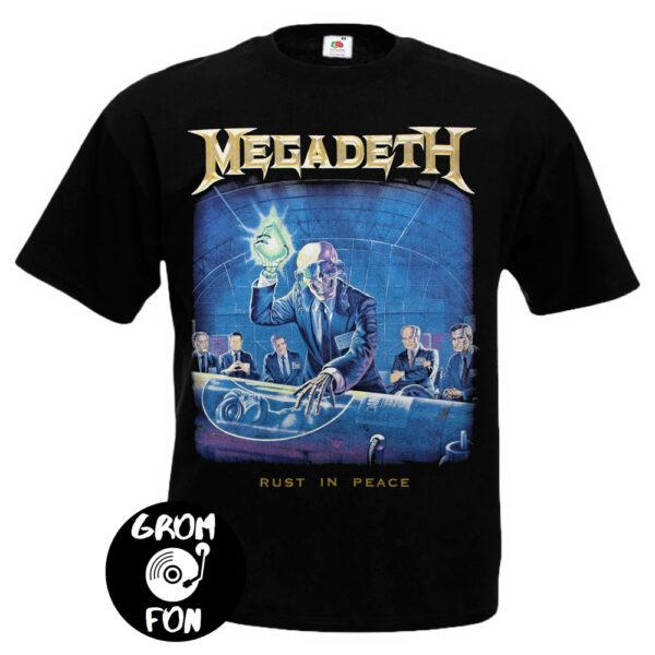 Футболка MEGADETH Rust In Peace Radioactive