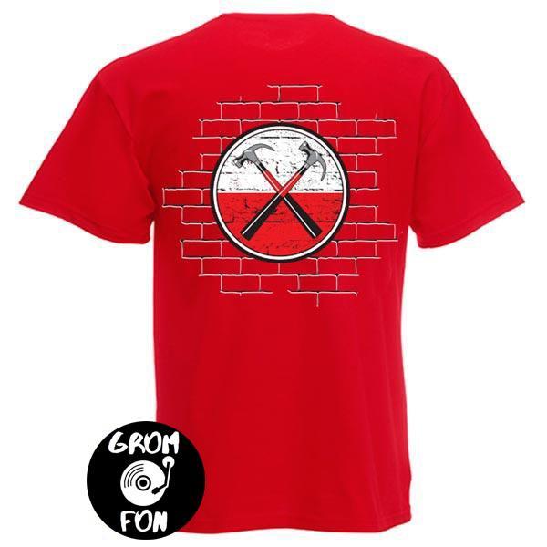 Футболка PINK FLOYD The Wall красная
