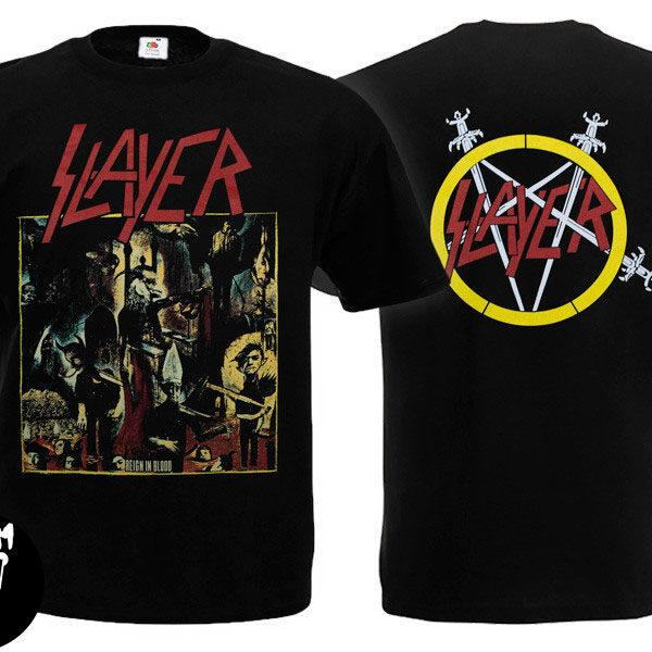 Футболка SLAYER Reign In Blood