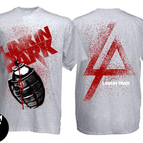 Футболка Linkin Park меланжевая