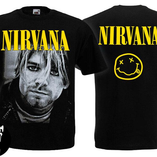 Футболка NIRVANA K.Cobain