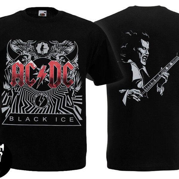 Футболка AC/DC Black Ice