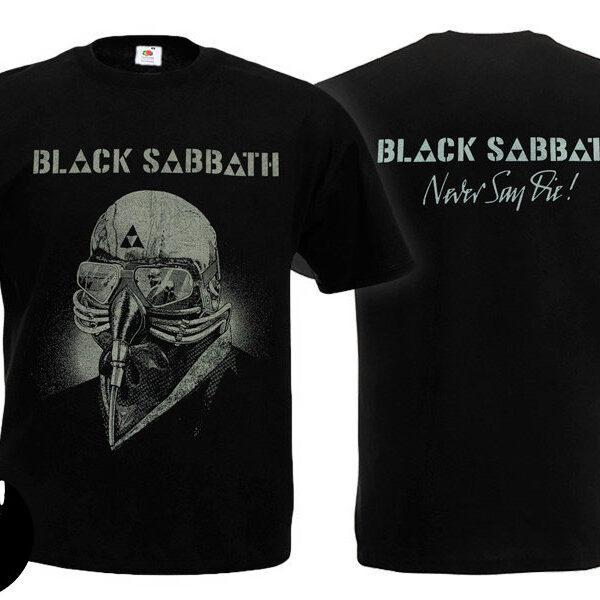 Футболка BLACK SABBATH Never Say Die