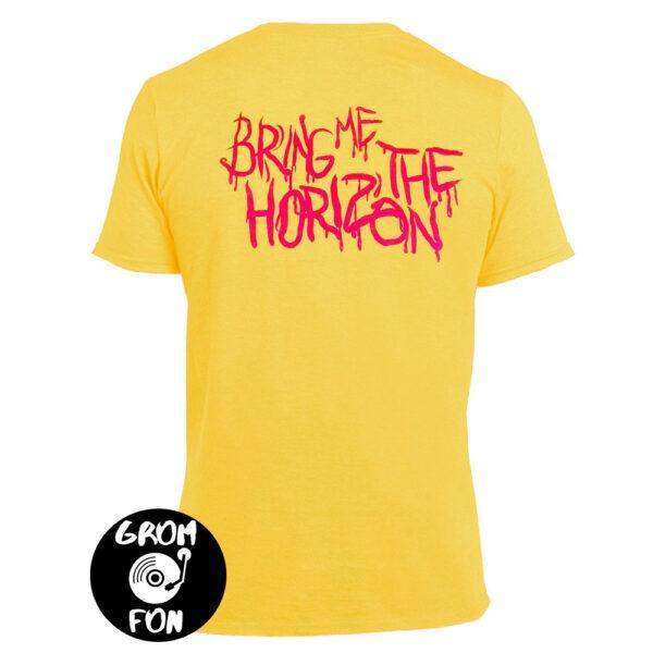 Футболка BRING ME THE HORIZON желтая