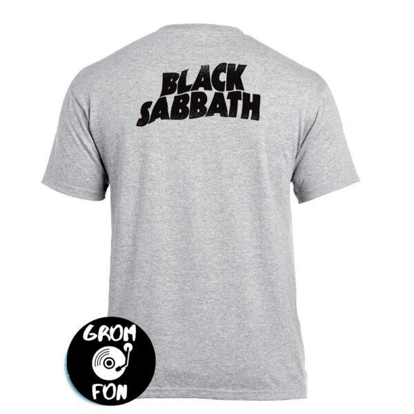 Футболка BLACK SABBATH Never Say Die 2 Pilots меланжевая