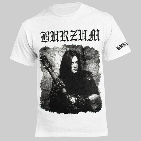 Футболка BURZUM Anthology Varg Vikernes Белая