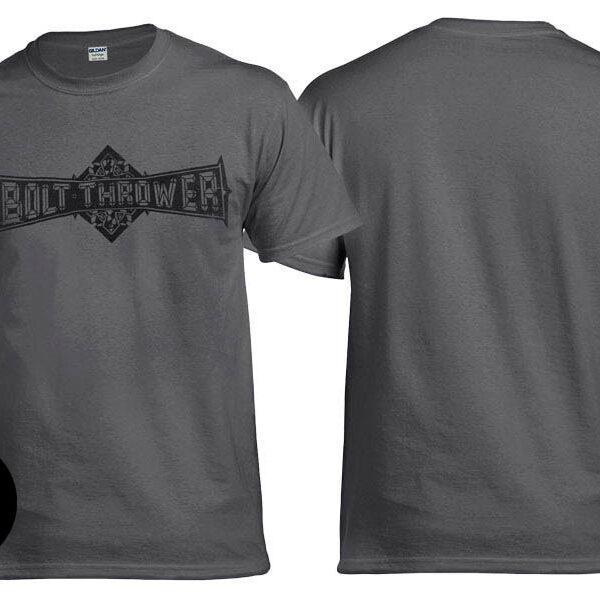 Футболка BOLT THROWER Logo графитовая