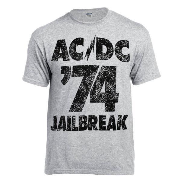 Футболка AC/DC Jailbreak меланжевая