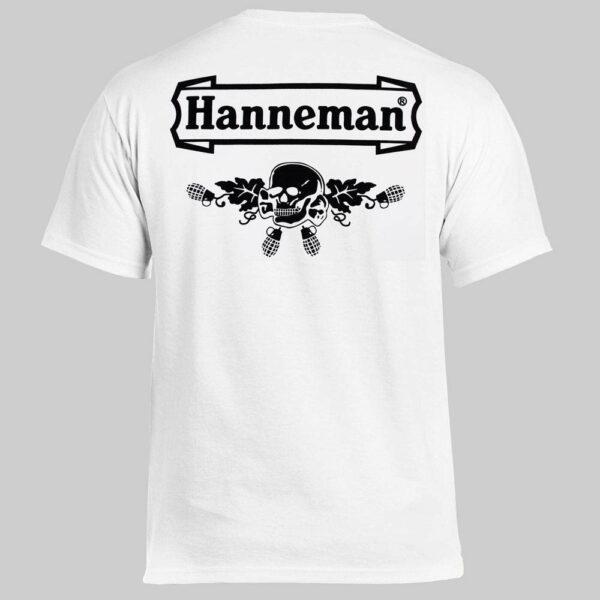 Футболка HANNEMAN Logo белая