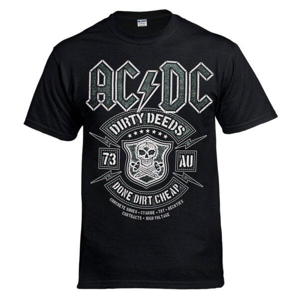 Футболка AC/DC Dirty Deeds