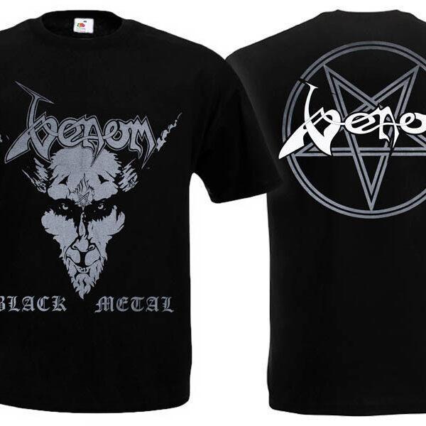 Футболка VENOM Black Metal