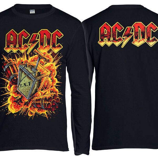 Футболка длинный рукав AC/DC Explosion