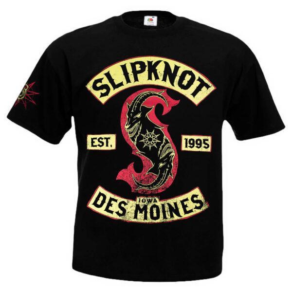 Футболка SLIPKNOT Iowa Des Moines