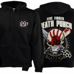 Толстовка на змейке FIVE FINGER DEATH PUNCH Got Your Six