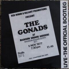 Gonads ‎– Live-The Official Bootleg