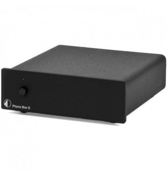 Фонокорректор Pro-Ject Phono Box S Black