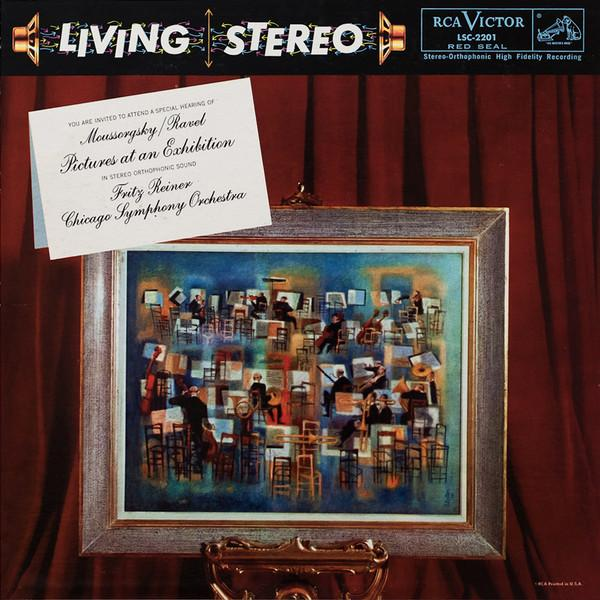 Виниловый диск LP Moussorgsky, Ravel, Fritz Reiner, Chicago Symphony Orchestra ‎– Pictures At An Exhibition