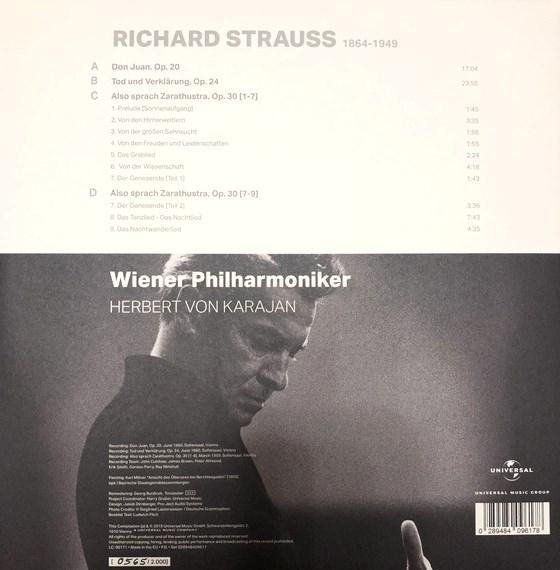Виниловый диск LP Richard Strauss (Also sprach Zarathustra)