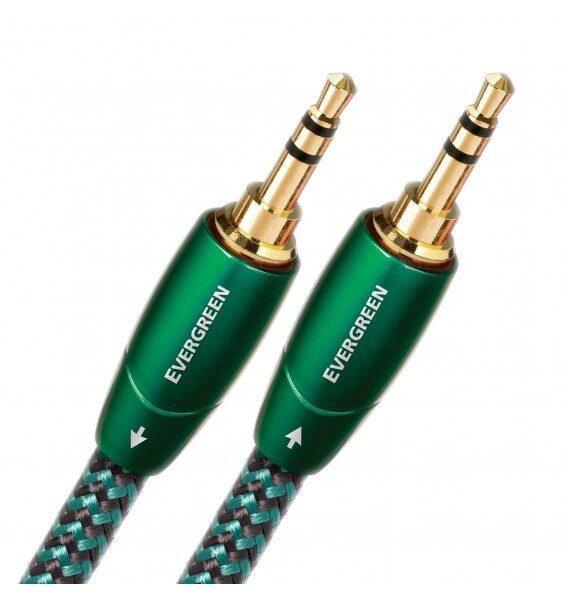 Межблочный шнур AudioQuest Evergreen 3.5mm - 2RCA 0.6м