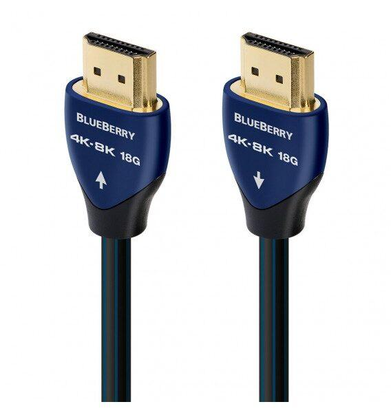 HDMI кабель Audioquest BlueBerry HDMI 4K-8K 18Gbps 2 м