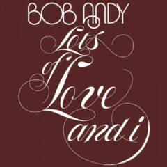 Виниловый диск LP Bob Andy ‎– Lots Of Love And I