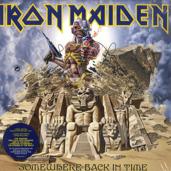 Iron Maiden – Somewhere Back In Time (The Best Of: 1980-1989)
