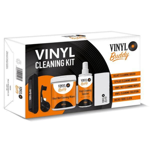 Набор для ухода за пластинками и иглой звукоснимателя Vinyl Buddy Cleaning Kit